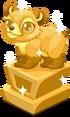 Bear baby trophy