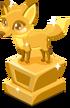Fox baby trophy