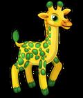 Glitzy giraffe single