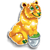 Goal gold bucks bear icon