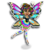 Goal rainbow glow fairy icon
