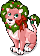 Christmas lion single
