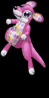 Polka dot kangaroo an