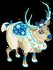 Snow reindeer single