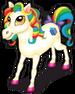 Ribbon pony single