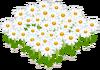 Lovely White Flowerbed