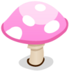 Pink Toadstool