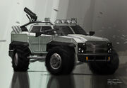 Assault car concept