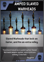Amped Slave Warheads