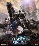 Titanfall Online Titan Poster alt
