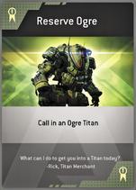 Reserve Ogre