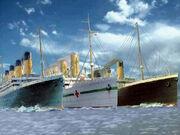Titanic, Britannic, & Olympic