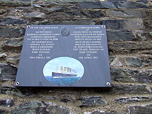 File:Barmouth plaque to Harold Lowe (Titanic).JPG