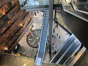 Titanic Belfast atrium looking down