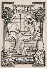 Hew bookplate