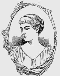 Lucile Polk 1892 sketch