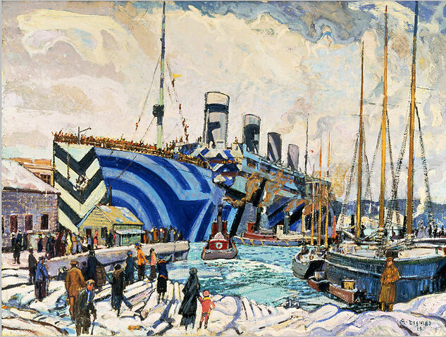 File:Arthur Lismer - Olympic with Returned Soldiers.jpg