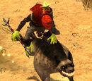 The Faceless One - Dune Raider Hero