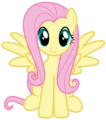 Fluttershy Sitting.png