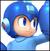Mega Man colored