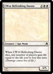 CW10 Refreshing Daoist