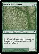 CG01 Green Invoker
