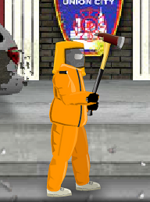 Fireaxe equipped sdw