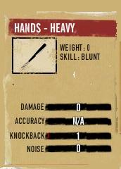 Hands-heavy glitch