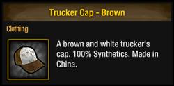 Trucker cap-brown