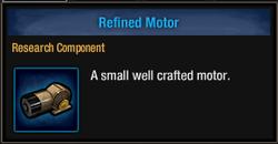 Tlsdz refined motor
