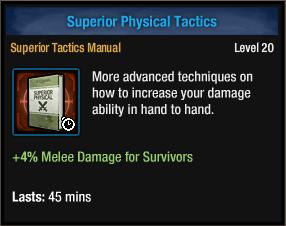 Superior Physical Tactics
