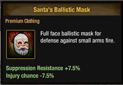 Tlsdz santa's ballistic mask