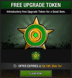 Tlsdz free upgrade token package