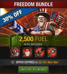 Tlsdz freedom bundle 2500 fuel 2015