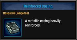 Reinforced casing