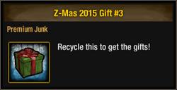Z-Mas 2015 Gift 3