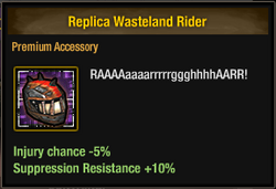 Replica Wasteland Rider