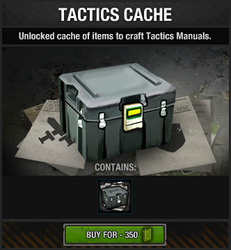 Tactics Cache package