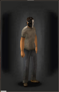 Bounty Ballistic Mask - Contrast equipped male