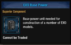 Exo base power