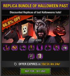 Halloween past items