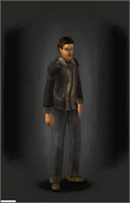 Jacket - Black - equipped male