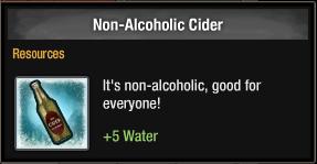 Non-Alcoholic Cider 2016
