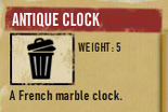 Tlsuc antique clock