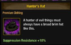 Tlsdz hunter's hat