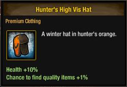 Tlsdz hunter's high vis hat