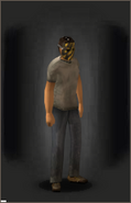 The Warning equipped male