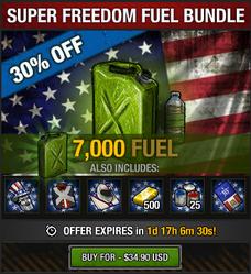 Super Freedom Fuel Bundle