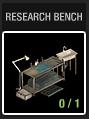 Research-bench-menu