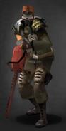 TLSDZ survivor with the HERC Mask